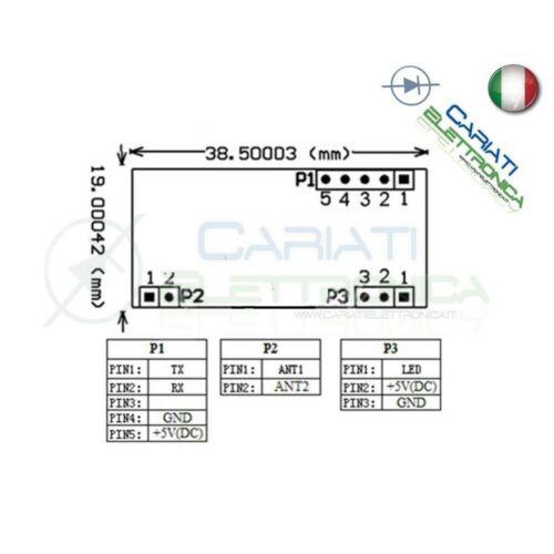 125khz em4100 RFID Card Read Module Card Board rdm6300 uart arduino