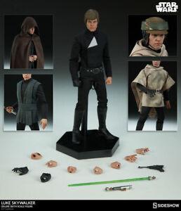 Sideshow-Star-Wars-Luke-Skywalker-Deluxe-1-6-Scale-Figure-Jedi-Mark-Hamill-New