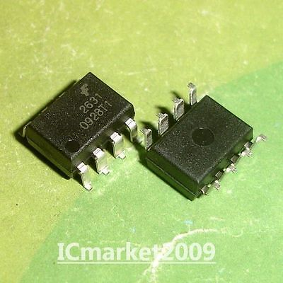 10 PCS HCPL-2631 DIP-8 HCPL2631 A 2631 High CMR Line Receiver Optocouplers