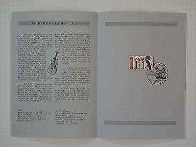 (93j30) Bund Erinnerungsblatt 1993 Mit Esst Mi.nr. 1688 Matthias Klotz Halten Sie Die Ganze Zeit Fit