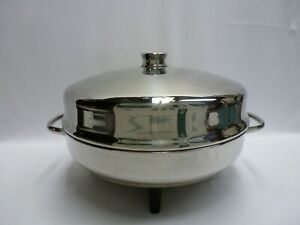 Vintage Farberware Stainless 12 Inch Electric Skillet Fry