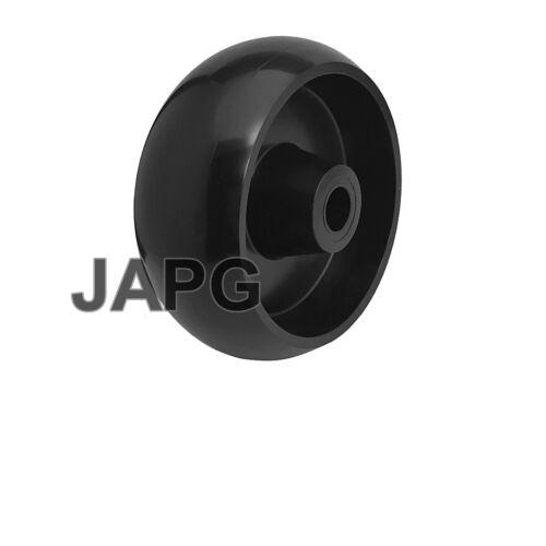 GX10168 FITS MANY JOHN DEERE RIDE ON MOWERS ANTI SCALP DECK WHEEL SEE LIST