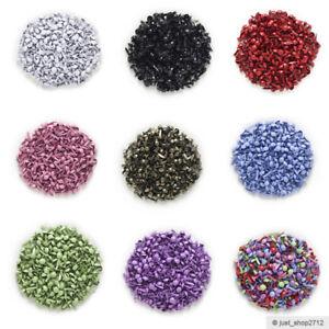 Mini-Musterklammern-Rund-Klammern-Basteln-Brads-Weiss-Schwarz-Blau-Rot-Lila-9x5mm