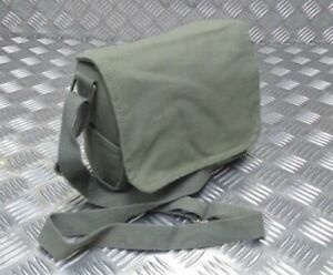 Military Style Mini Canvas Shoulder Bag Small Effects Army Green - NEW