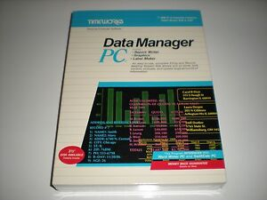Timeworks-Data-Manager-PC-dos-database-new-in-box-5-25-034