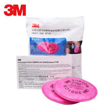 4.3 Inch 2 Pcs 1 Pairs Particulate Filter Compatible with 2096 P100 Installed on 6000 7000 FF-4 Filter Retainer Use ERHER