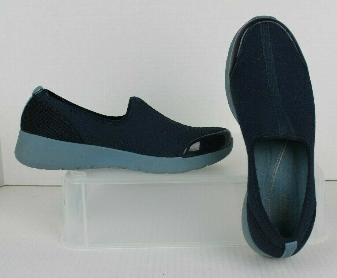 Easy Spirit e360 Fun Runner bluee Slip-On Comfort Walking shoes Womens 9.5M EUC