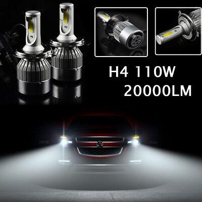 H4 110W 20000LM LED Headlight Birnen Auto Scheinwerfer Nachrüstsatz Kit 6000K DE