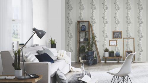 Tapete Erismann Mix Up 6471-10 Floral Ranken Glitzer Grau Hellgrau EUR 2,81//qm