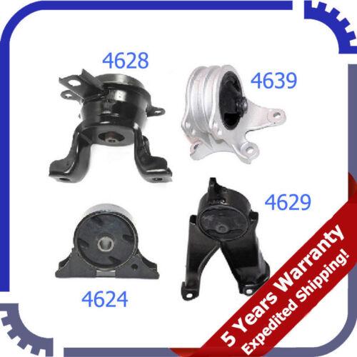 06-12 For Mitsubishi Eclipse Galant 2.4L Motor /& Trans Mount 4PCS For Auto M964