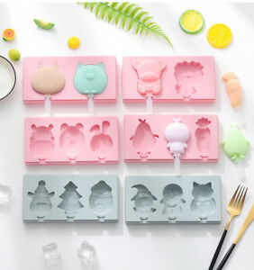 DIY Silicone Frozen Ice Cream Mold Juice Popsicle Maker Ice Lolly Mould Summer