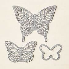 Stampin Up ! Sizzix Big Shot Butterflies Thinlits Dies 3 Templates ~ New in PKG