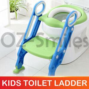 Kids-Toilet-Seat-Ladder-Baby-Toddler-Potty-Training-Step-Trainer-Non-Slip-Safety