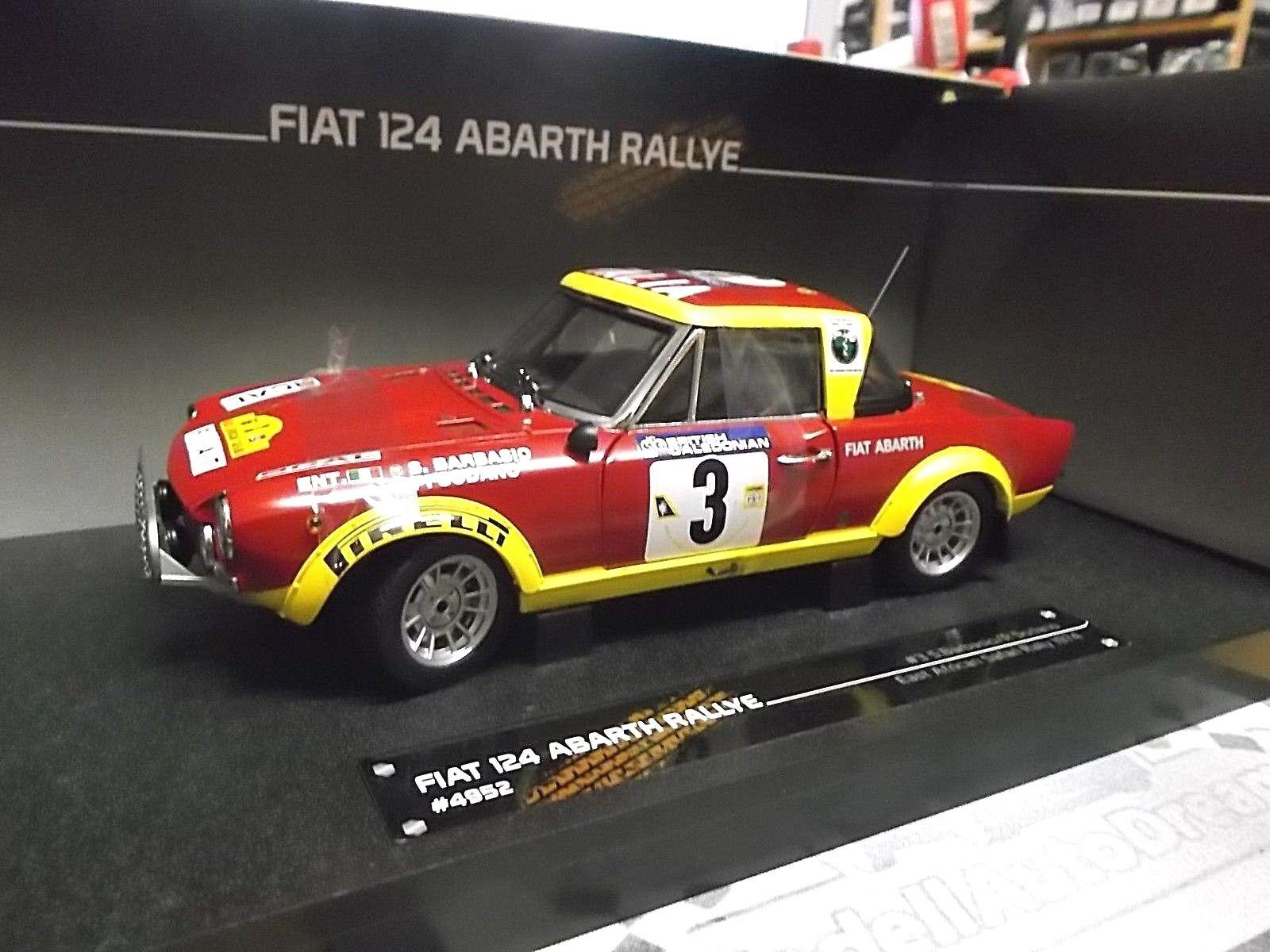 Fiat 124 abarth - rallye - afrikanischen safari   3 1974 barbasio sodano sunstar sst 1,18