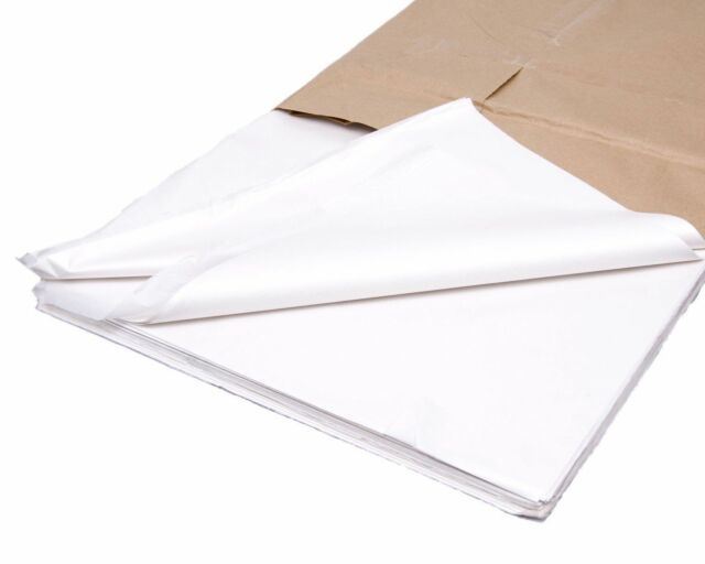 500 Sheets White Tissue Paper Acid Free Ream Gift Wrap Wrapping Gift Packaging