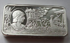 Aethelred the Redeless 2 tr oz + 66.5g solid silver INGOT J Pinches London 1973