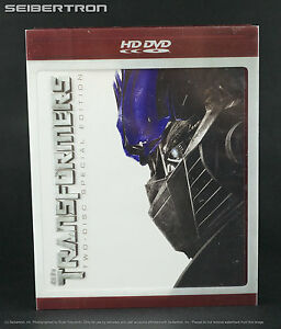 transformers hd dvd movie 2007 two disc special edition set starring