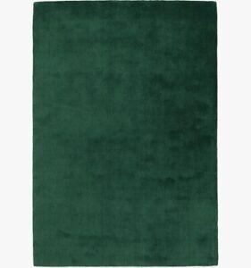 John-Lewis-Wellington-100-Wool-Rug-230cm-x-160cm-Emerald-Green-A