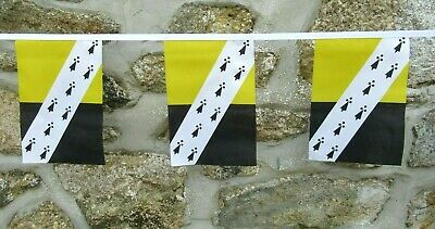 Gloucestershire County Flag Polyester Bunting Various Lengths