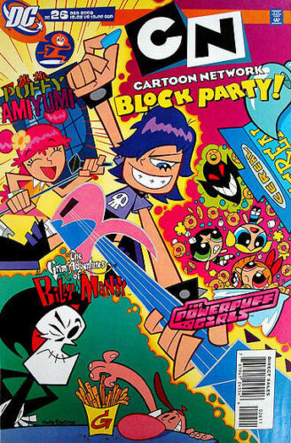 HI HI PUFFY AMIYUMI Comic # 26 Powerpuff Girls SOLD OUT