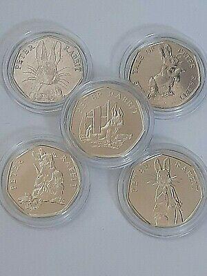 Beatrix Potter 50P 2016 2017 2018 2019,20 Puddle duck Peter Rabbit Cheap Coins