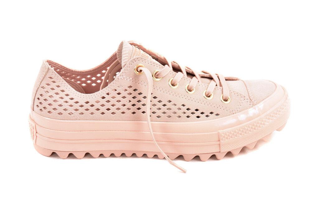 Converse Women's CTAS Lift Ripple OX 560653 shoes Beige UK 5    BCF88