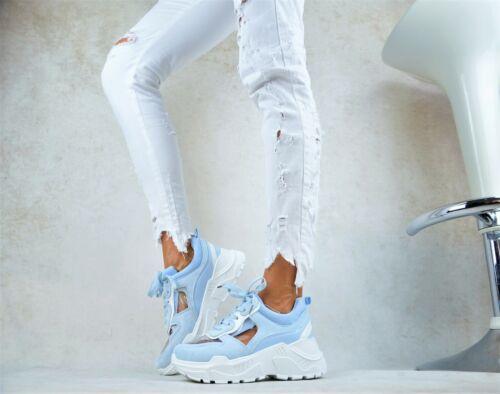 Designer XL Transparent Plateforme Femme Trendy Loisirs Fête Escarpins Baskets