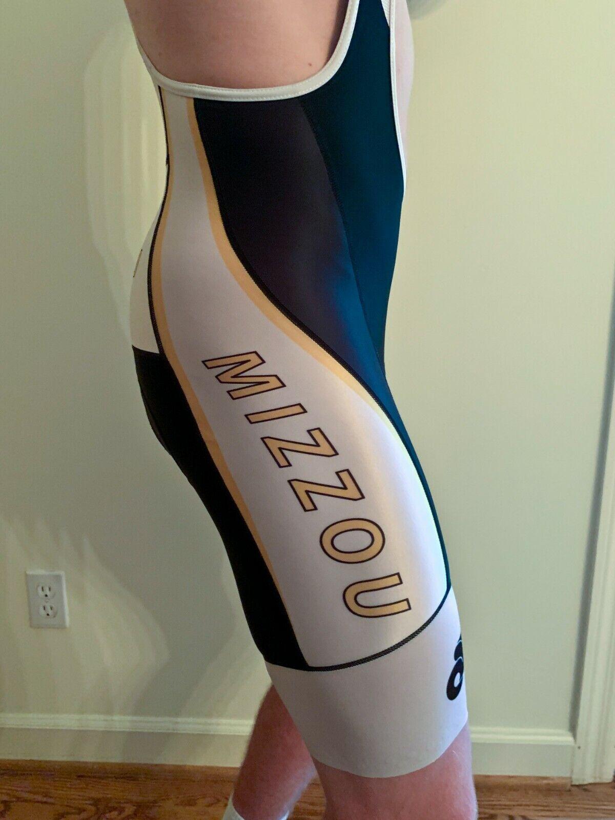 University of Missouri Mizzou Champsys Bib  Cycling Short Men's Small NWT  large selection