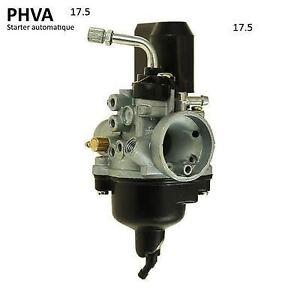 Carburateur 17.5 PHVA starter électrique Auto pour scooter piaggio Typhoon