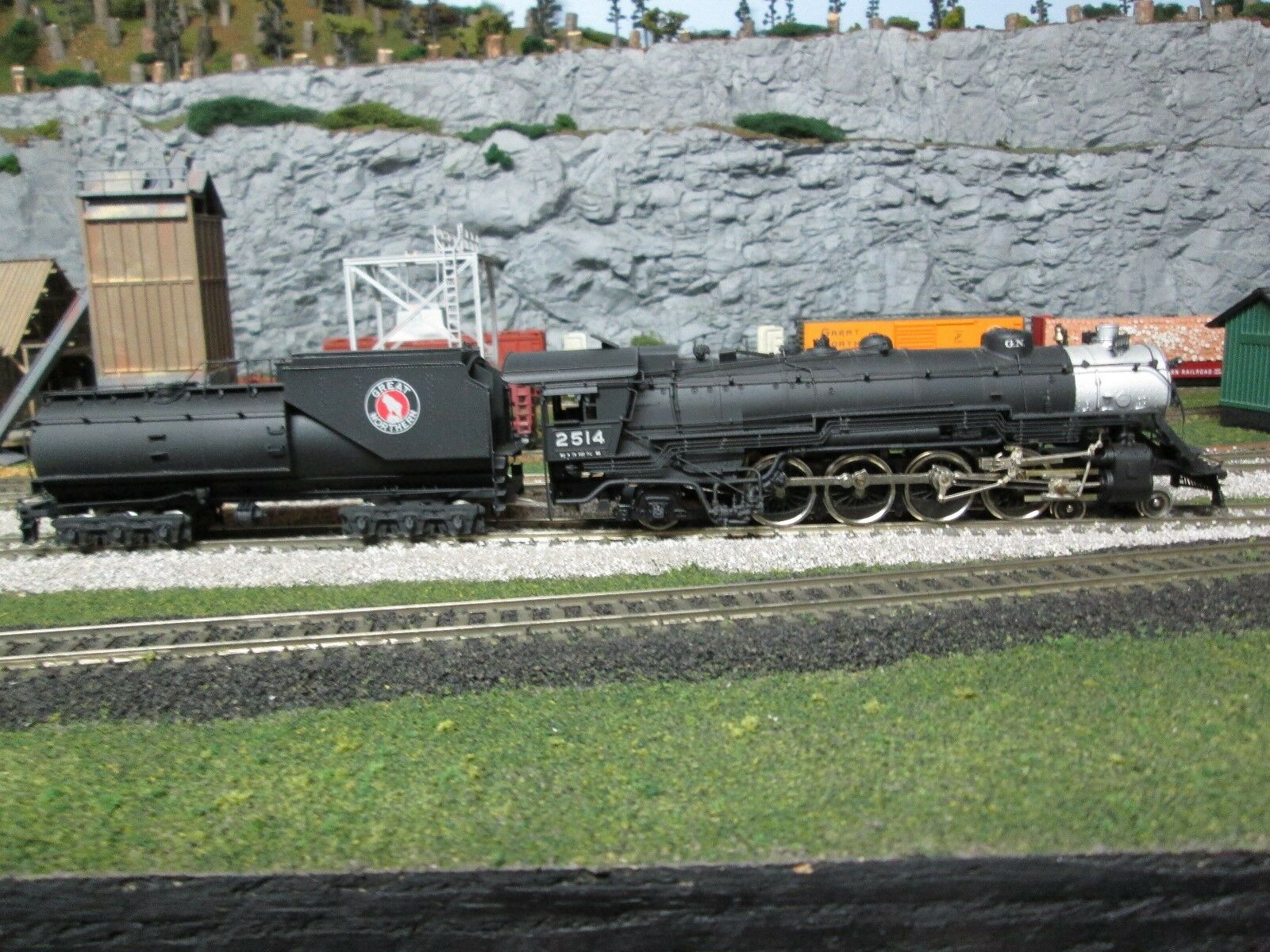Ho Latón tenshodo pfm corona 162 Great Northern P-2 4-8-2 Locomotora de vapor 2514