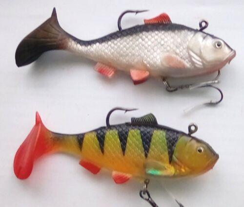 Pike /& Bass 5inch swim bait lure 2.3oz 65grms multi-Choice listing