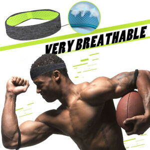 Sweatband-Hairband-Sports-Sweat-Headband-Yoga-Gym-Stretch-Unisex-Mens-Hair-Band