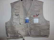 "HALF PRICE Fishing Vest Fly Waistcoat EagleClaw AdultXS/YouthM 37"" UK POST FREE"
