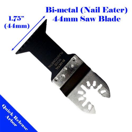 14 Metal//Wood Saw Blade Oscillating MultiTool Black /& Decker Makita Ridgid Ryobi