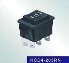 DOPPIO INTERRUTTORE 2 VIE 3 POSIZIONI ZERO CENTRALE 10A 250V 35X25X29 mm 6 CONT.