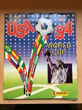 USA 1994 World Cup WM WC 94 RARE PANINI Sticker ALBUM - nearly Complete