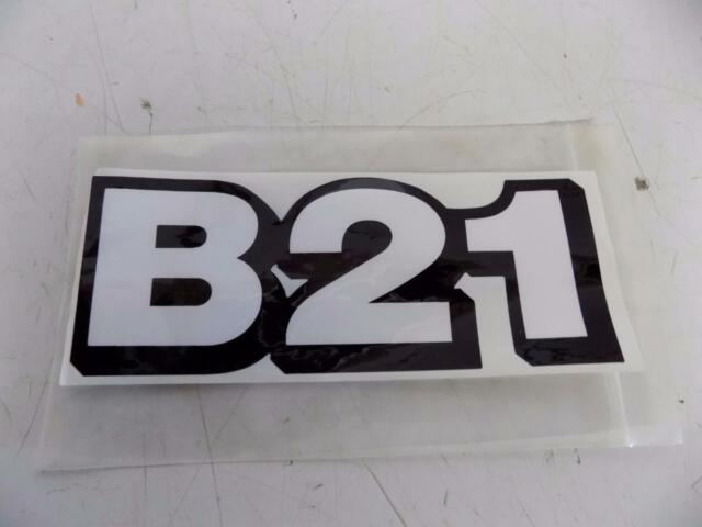 Kubota B21 Label for Tl421 Loader & Bt75a Backhoe Attachments  Part#75583-58470