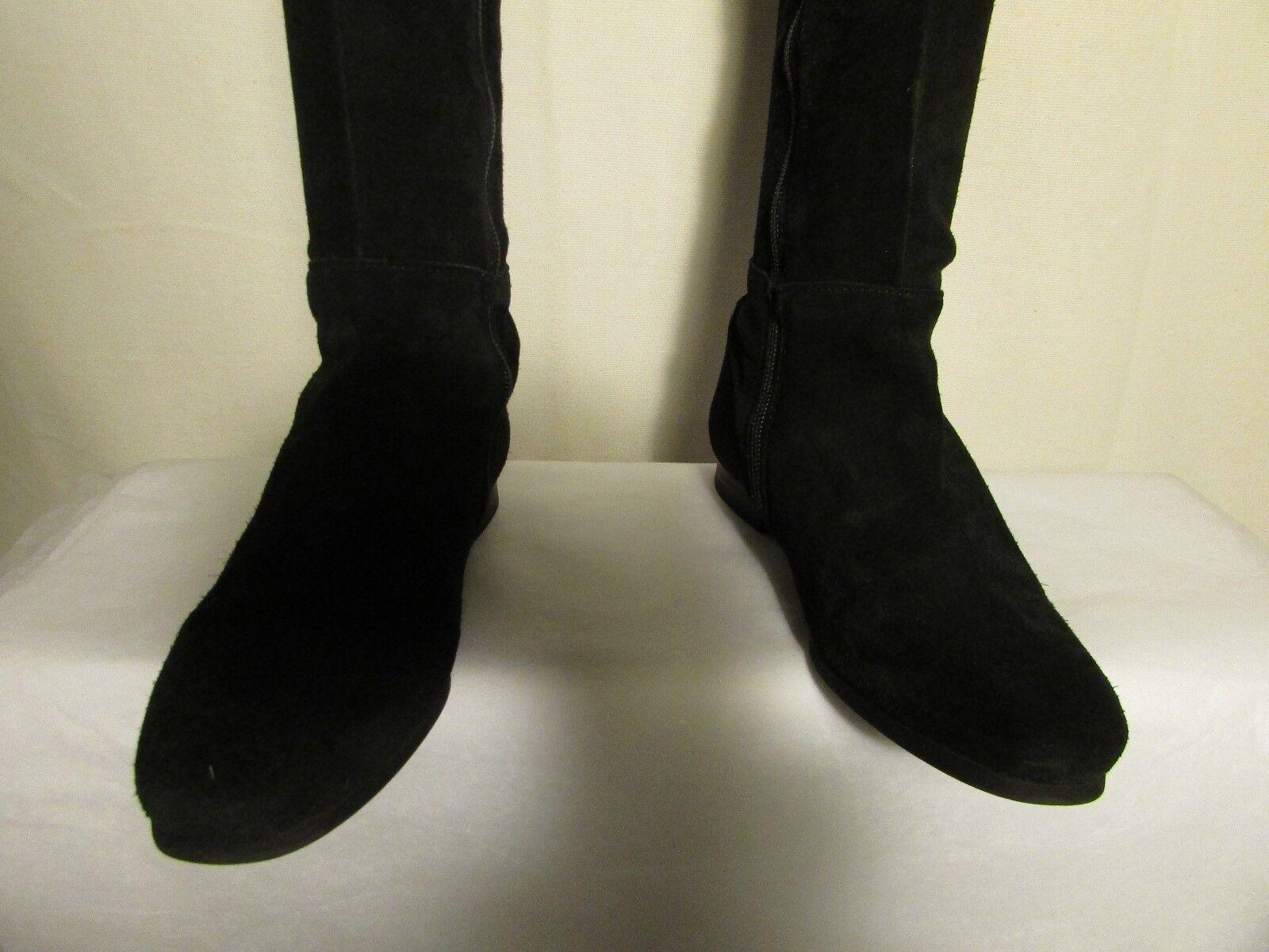hohe Stiefel DMN Wildleder Wildleder DMN schwarz 36 2aa1d5