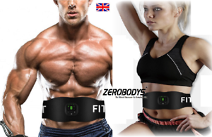 EMS Abdominal Ultimate ABS Slim Stimulator Muscle Training Toning Fit Belt Waist