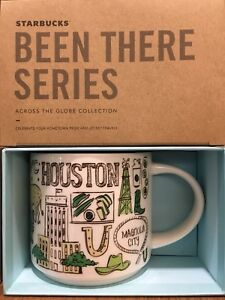 Starbucks Coffee Been There Series Mug HOUSTON, Texas Cup 14 oz NIB & w/SKU
