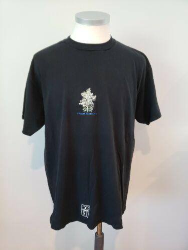 """Vtg 1991 Paul Simon """"Concert In The Park"""" T-Shirt,"""