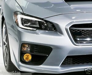 Image Is Loading 2017 Subaru Impreza Wrx Sti Yellow Fog Light