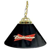 Pool Table Lamp Shade Budweiser Black Hanging Bar Lights Billiard Man Cave Decor