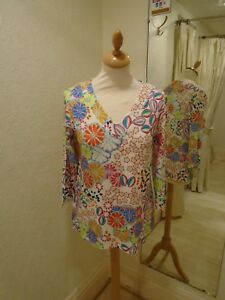 Olimpia Style Tinta Cream Bright Top Multi Printed 45pWTnpg