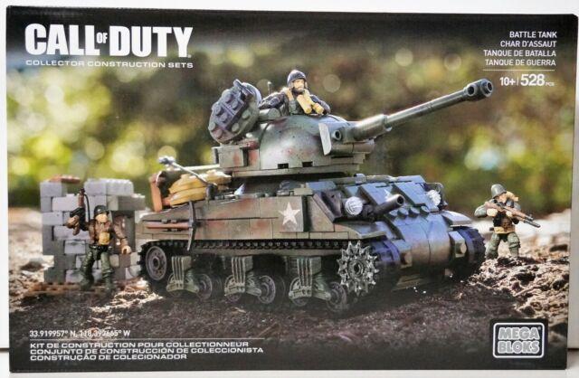 CNG 96 Mega Bloks-Call Of Duty-Panzer-Battle Tank Aussuchen DCL09