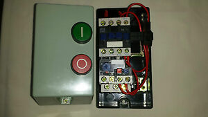 Dol starter 1 phase 230v or 3 phase 400volt coil  Electric