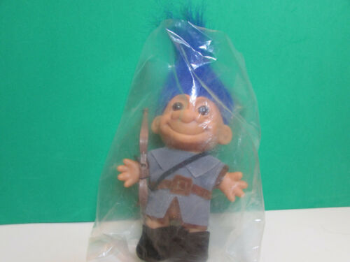 "5/"" Russ Doll ARCHER // ROBIN HOOD Very Rare NEW IN ORIGINAL WRAPPER"