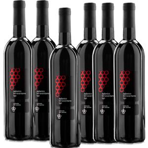 VINO-ROSSO-Aglianico-IGP-x-6-Bottiglie-0-75ml