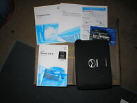 2007 Mazda Cx-9 Owners Manual Set With Cover Case And Navigation Manual