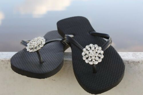 b7972da38df Sparkly Flip-Flops for Weddings collection on eBay!